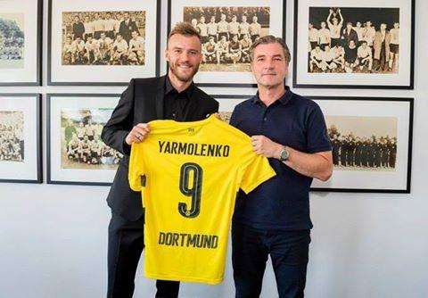 Офіційно: Андрій Ярмоленко став гравцем «Боруссії»
