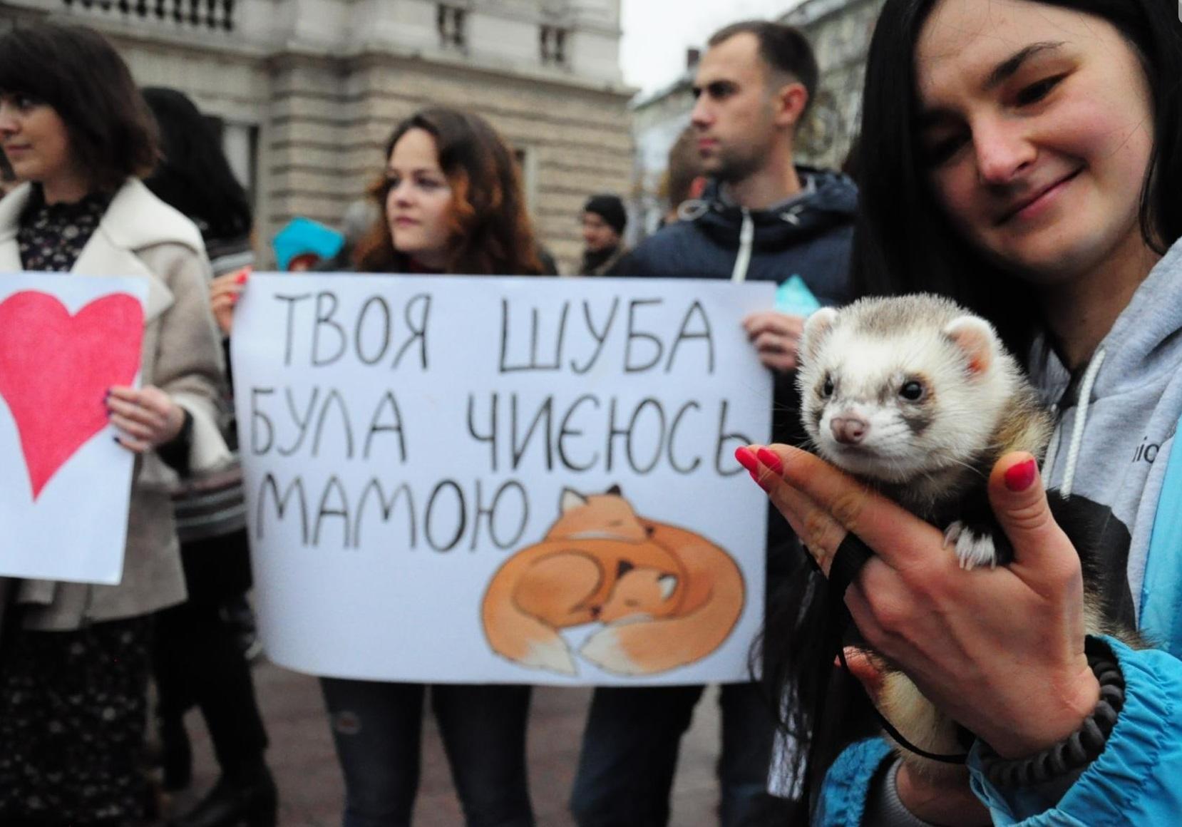У Львові відбувся масштабний Марш на захист тварин