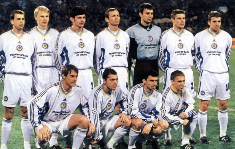 Київське Динамо опинилося у топ-20 найкращих європейських клубів всіх часів