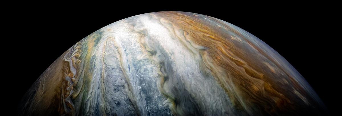Фото дня: хмарні пояси у південній півкулі Юпітера