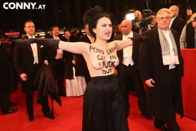 Оголення активістки Femen перед Порошенко у Відні було черговою провокацією РФ?