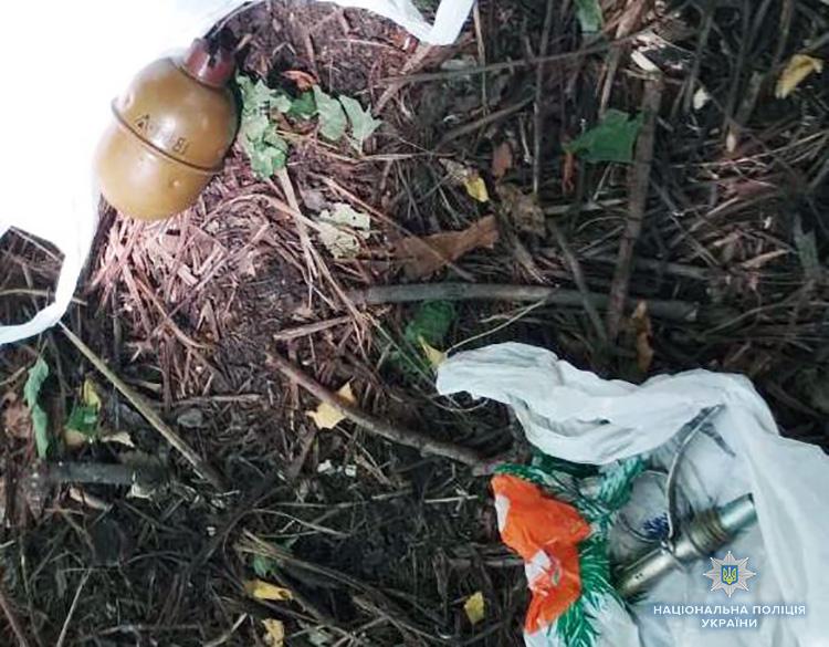 За сьогоднішній день, у Запорізькій області поліцейські вилучили наркотики, зброю та вибухівку