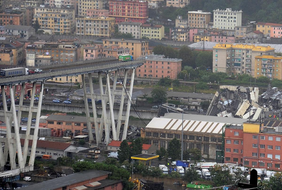 В Італії зростає кількість жертв через обвал мосту, частина якого ще може обвалитися – ФОТО, ВІДЕО