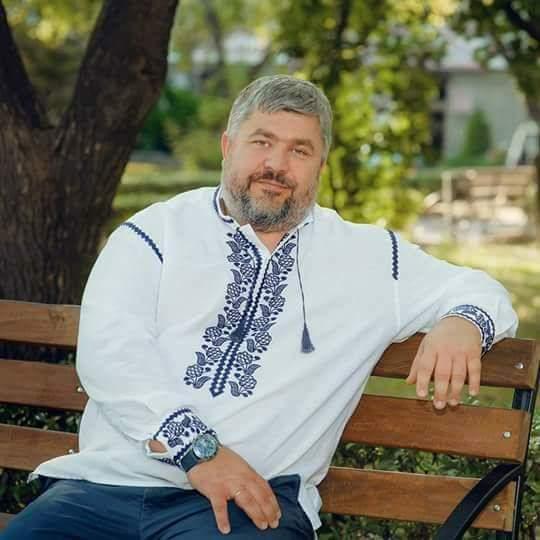 Запорожские активисты поздравляют преданного волонтера украинской армии Евгения Боговина