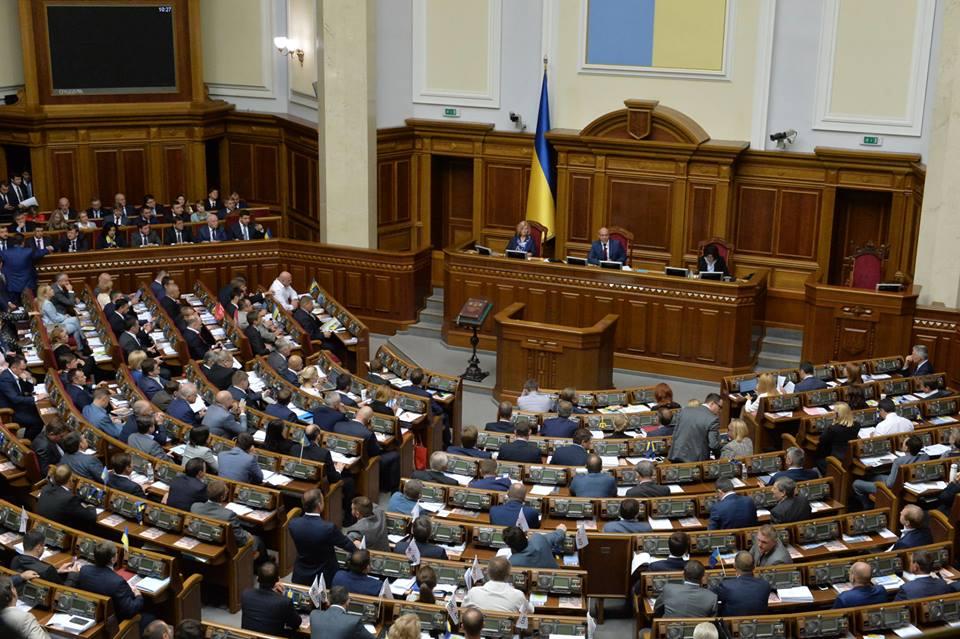 Верховна рада підтримала стратегічний курс на членство в ЄС та НАТО