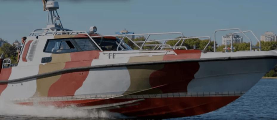 Береги Азовського моря тепер охоронятиме сучасний потужний катер