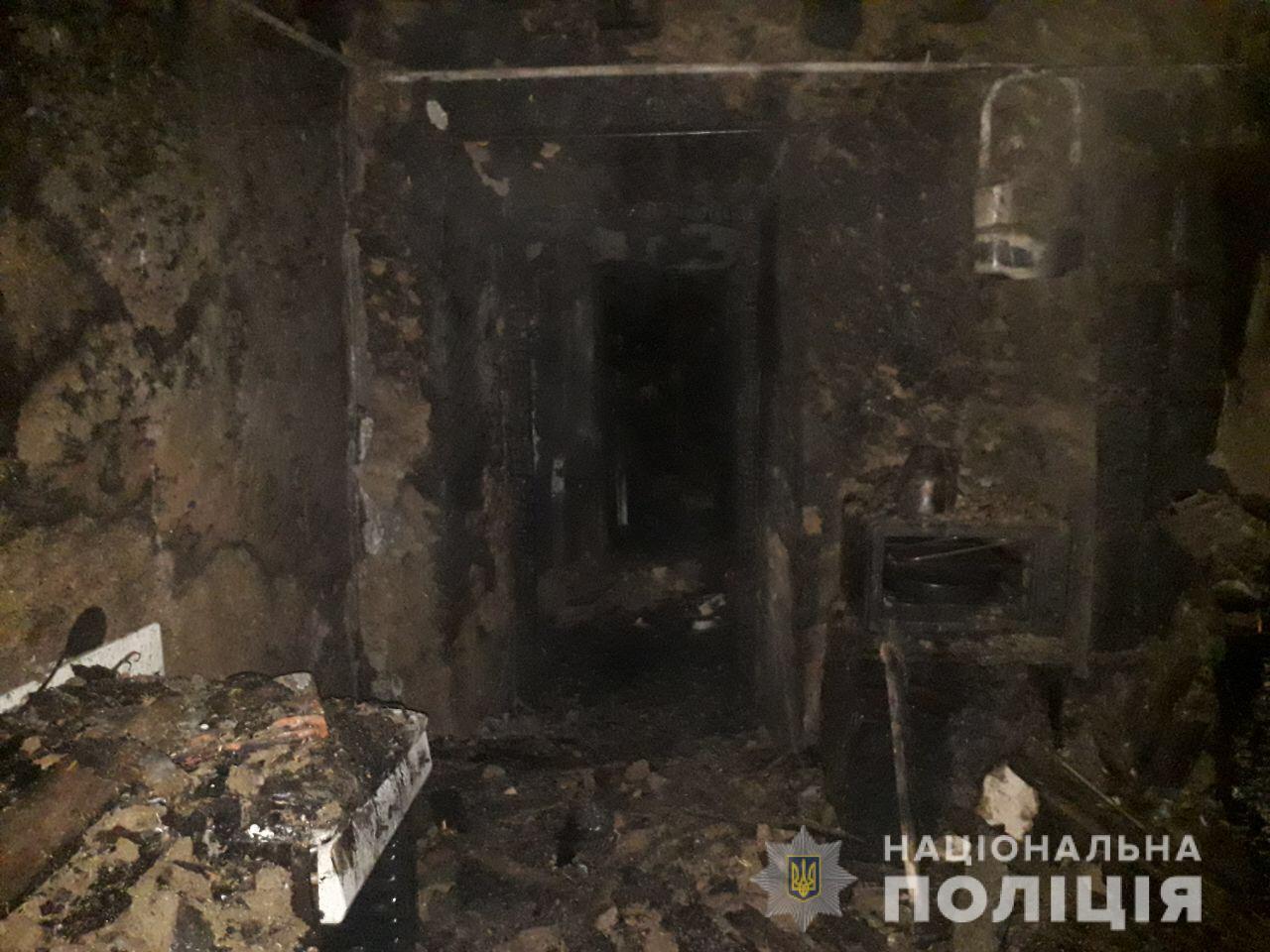 На Запоріжжі згоріло двоє діток і їх дядько, мати повісилася через хвилювання