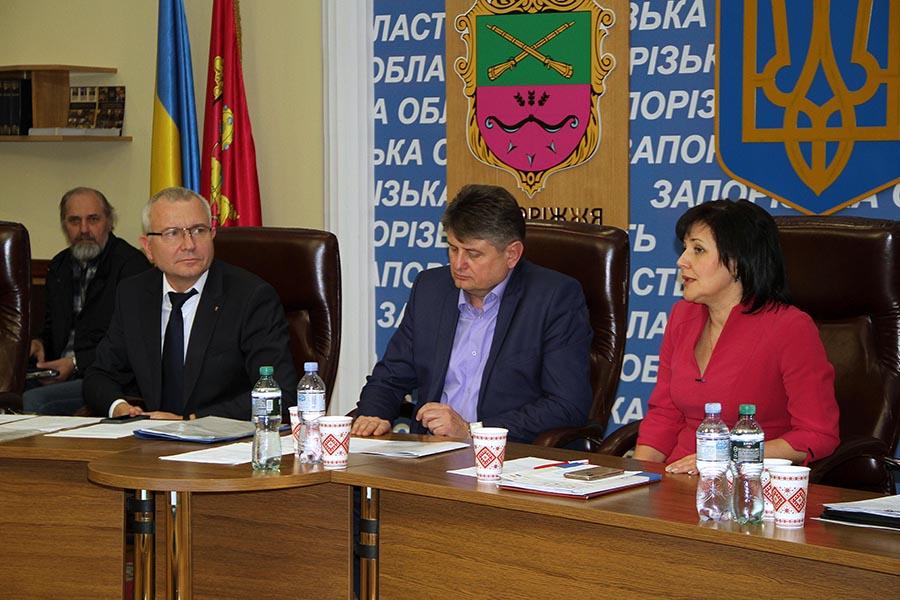 Голови ОТГ у Запоріжжі обговорили бюджет області та запланували організацію конгресу