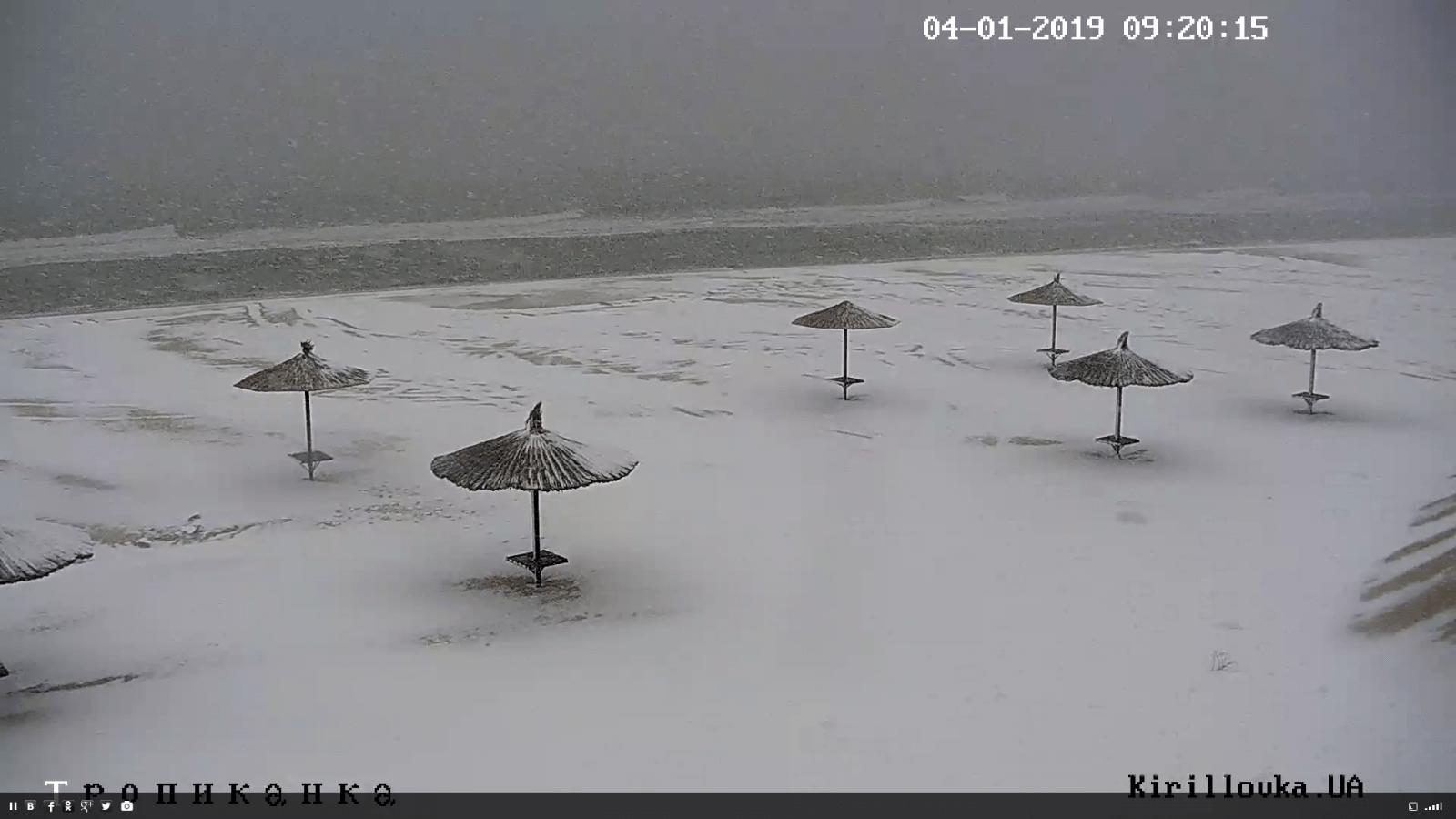 Запорізьку область замітає снігом, циклон рухається в обласний центр – фото