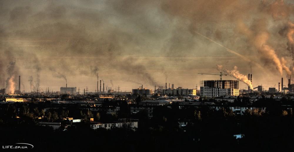 У Запоріжжі суспільство вигадало новий метод боротьби з викидами в атмосферу