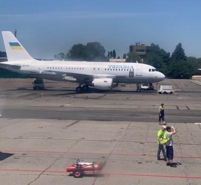 Через приліт Зеленського, запорізький аеропорт сьогодні затримує рейси