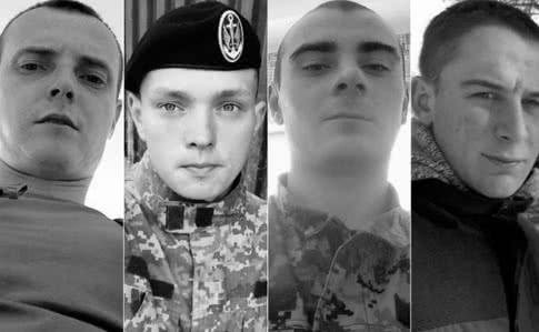 Україна в скорботі, з'явилися імена загиблих хлопців морпіхів