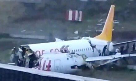 При посадці в Стамбулі розбився пасажирський Boeing 737