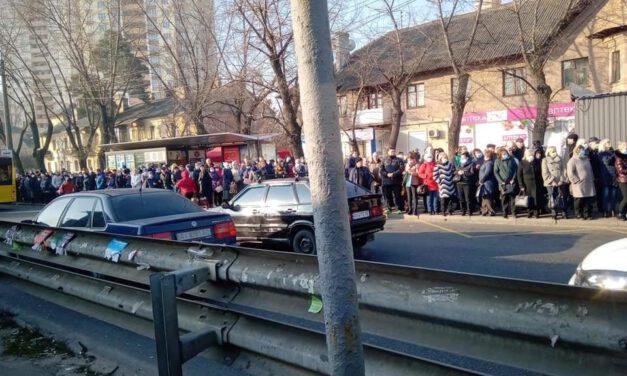 Через закриття метро у Києві почався транспортний колапс – фото