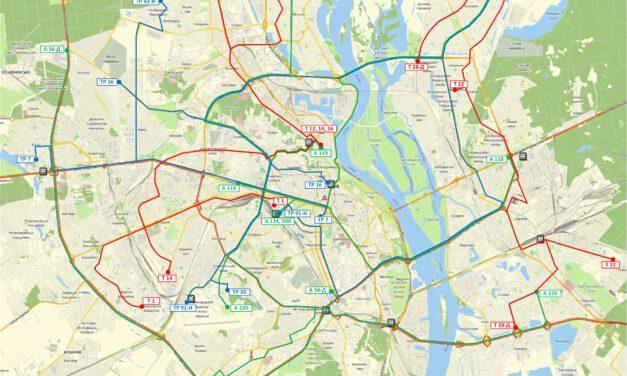 Оприлюднено схему руху громадського транспорту, яка буде діяти з 23 березня