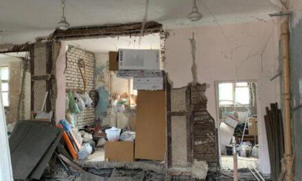За фактом обвалу будинку в Запоріжжі вікдрито кримінальну справу