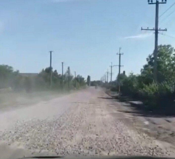 У Запорізькій ОДА відзвітували про ремонт дороги, яку просто засипали щебенем – відео