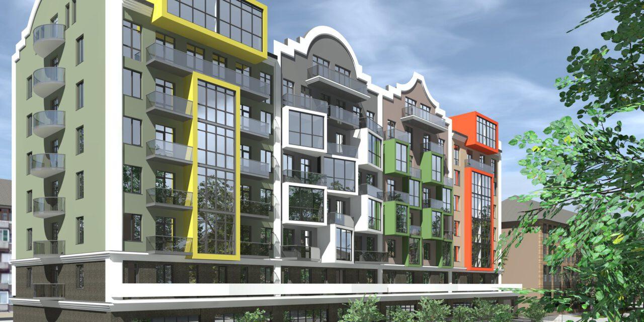 «Клубний будинок» у голландському стилі в центрі Запоріжжя: уже в продажі