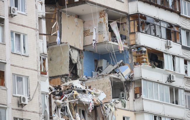 З'явилося відео з моменту вибуху в будинку на Позняках