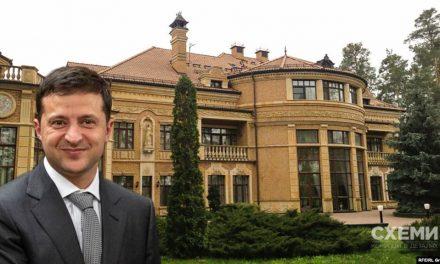 Журналісти показали як Зеленський знехтував обіцянками і заселився на шикарній державній резидентції