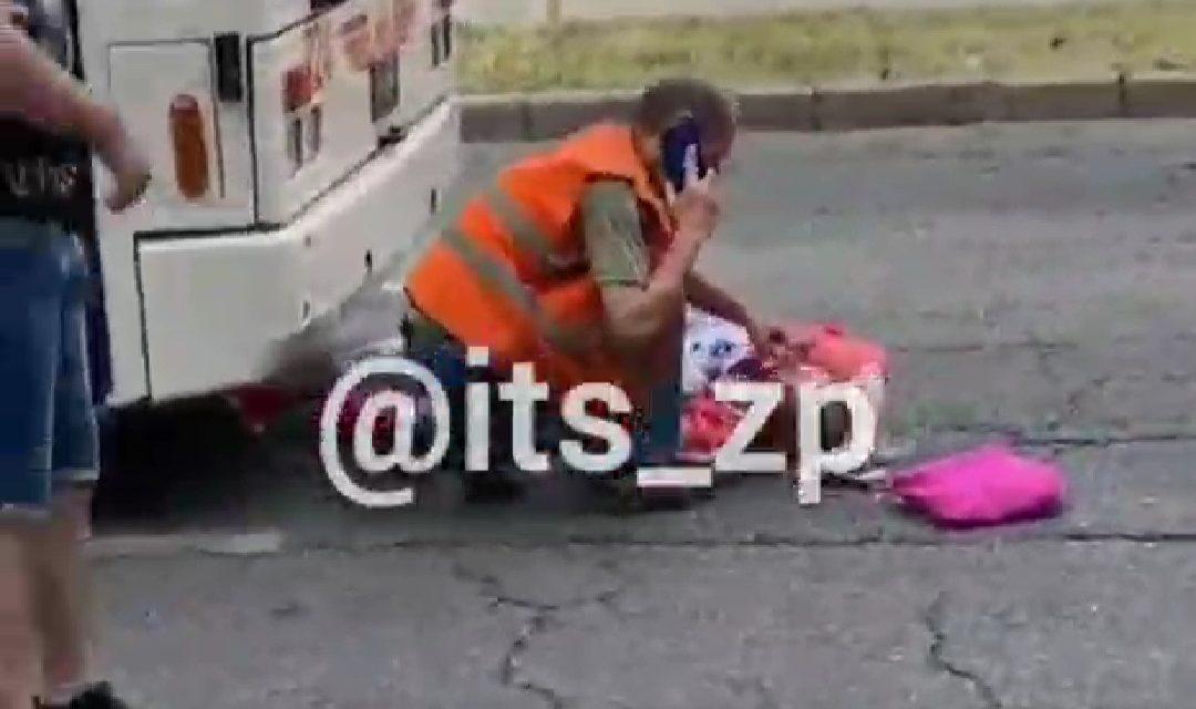 У центрі Запоріжжя тролейбус збив пішохода