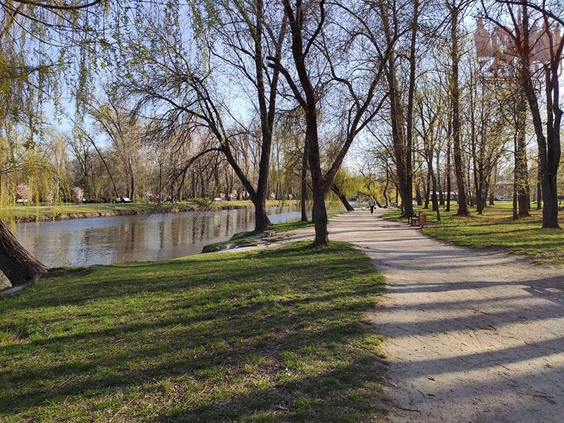 У центральному парку Запоріжжя трапилася трагедія