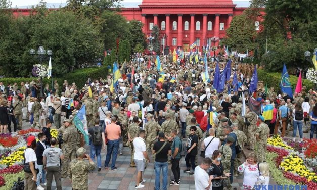 Ветерани із Запоріжжя долучилися до святкування Дня Незалежності у Києві – фото