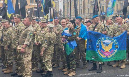 Учасники маршу захисників України в Києві вирушили до Офісу президента
