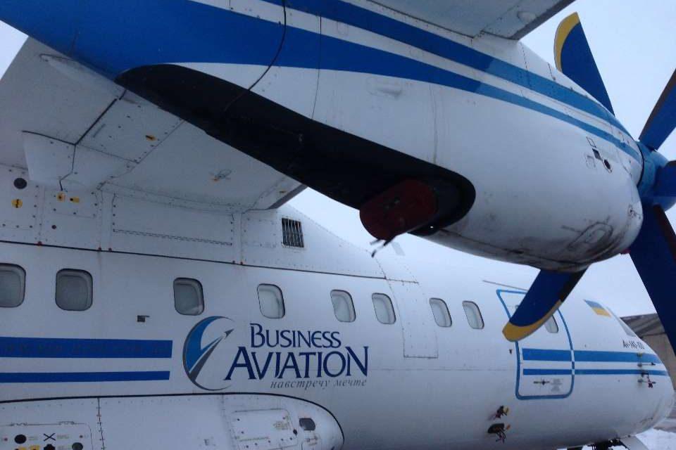 Літак, що знаходиться в аеропорту Запоріжжя, продадуть на аукціоні