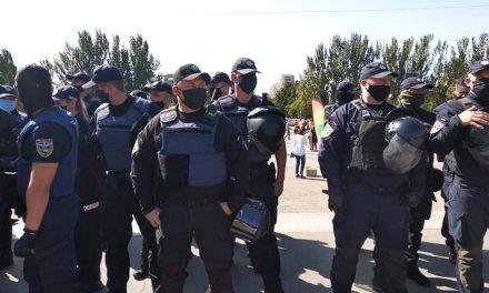 Під час акції за рівні права у Запоріжжі поліція затримала людей