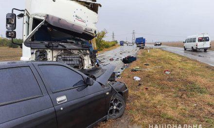 У поліції розказали про смертельну ДТП на трасі поблизу Запоріжжя