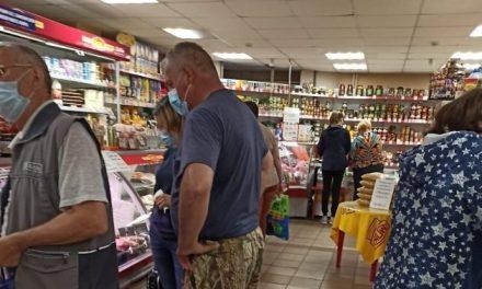 На Запоріжжі оштрафували продавчиню через відсутність захисної маски