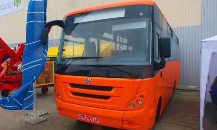 Запорізький автомобільний завод презентував модель малого приміського автобуса