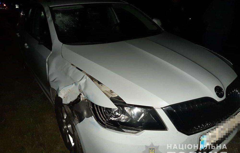 На Запоріжжі під колесами автомобіля загинула молода жінка