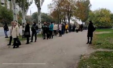 """У Запоріжжі транспортний колапс навіть без """"червоної зони"""" – відео"""