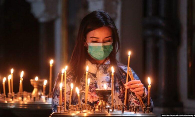Головний санітарний лікар розказав як працюватимуть церкви на Різдво в умовах можливого локдауну