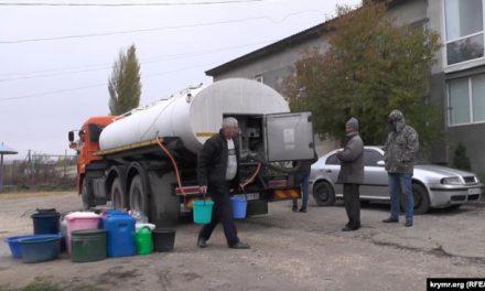 Мешканці села під Сімферополем відчувають великі незручності з водою – відео